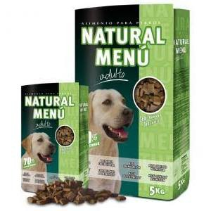 Comida semihúmeda para perros Natural Menú