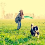 Cómo fotografiar a tu perro practicando ejercicio