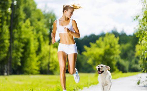 ¿Puedo salir a correr con mi perro?